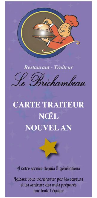 Carte Traiteur Brichambeau